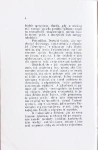 Przemówienie rektora Uniwersytetu Lwowskiego Dra Adolfa Becka na inauguracyi roku akademickiego