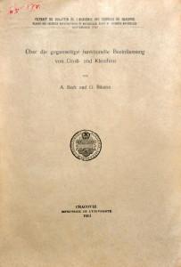 Beck A. Űber die gegenseitige funktionelle Beeinflussung von Groβ- und Kleinhirn