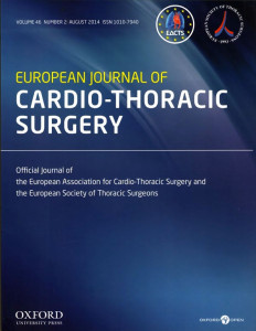 European Journal of Cardio-Thoracic Surgery