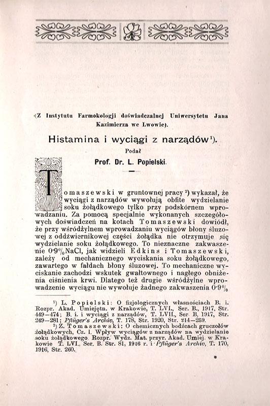 Księga Pamiątkowa wydana w dwudziestopiątą rocznicę istnienia Wydziału Lekarskiego Uniwersytetu Jana Kazimierza 1894-1919 przez członków Wydziału lekarskiego st 1