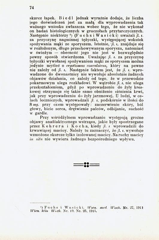 Księga Pamiątkowa wydana w dwudziestopiątą rocznicę istnienia Wydziału Lekarskiego Uniwersytetu Jana Kazimierza 1894-1919 przez członków Wydziału lekarskiego st 8