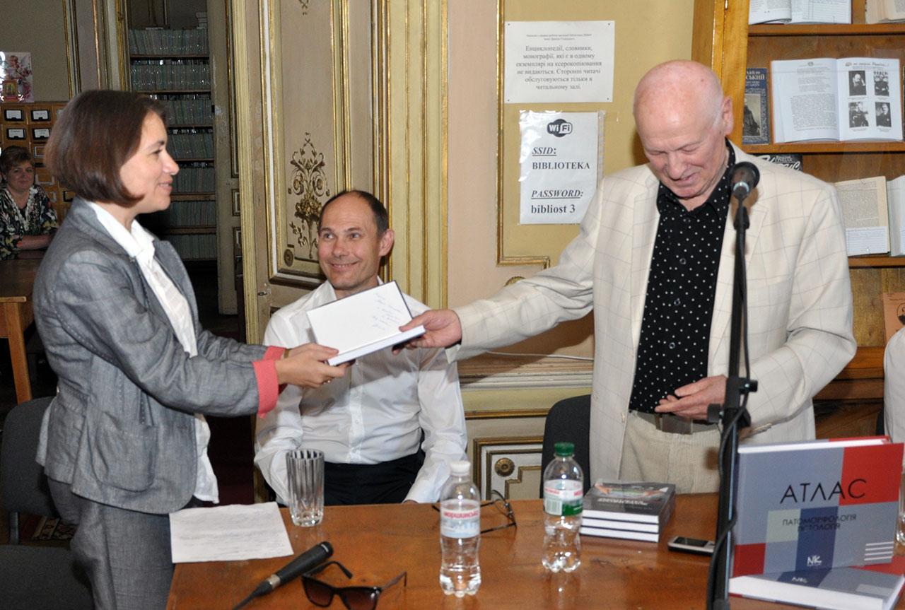 Творча зустріч з академіком Д. Д. Зербіно