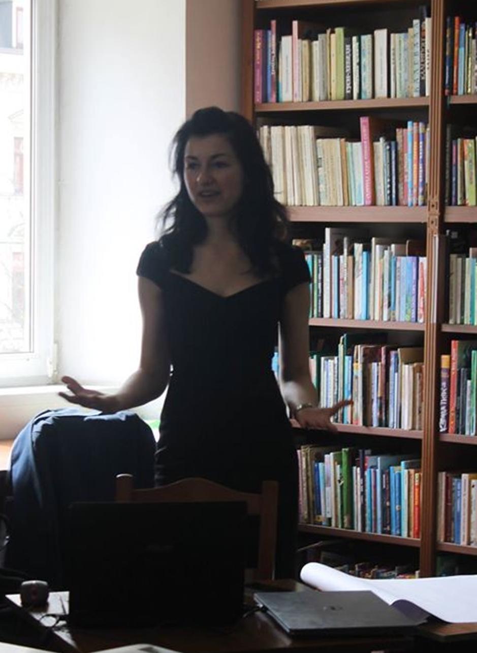 Гість семінару Світлана Крижанівська-Блінова («Креативна агенція Emagine»)