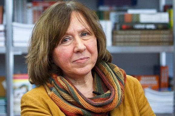 Svetlana Alexievich. Фото espreso.tv