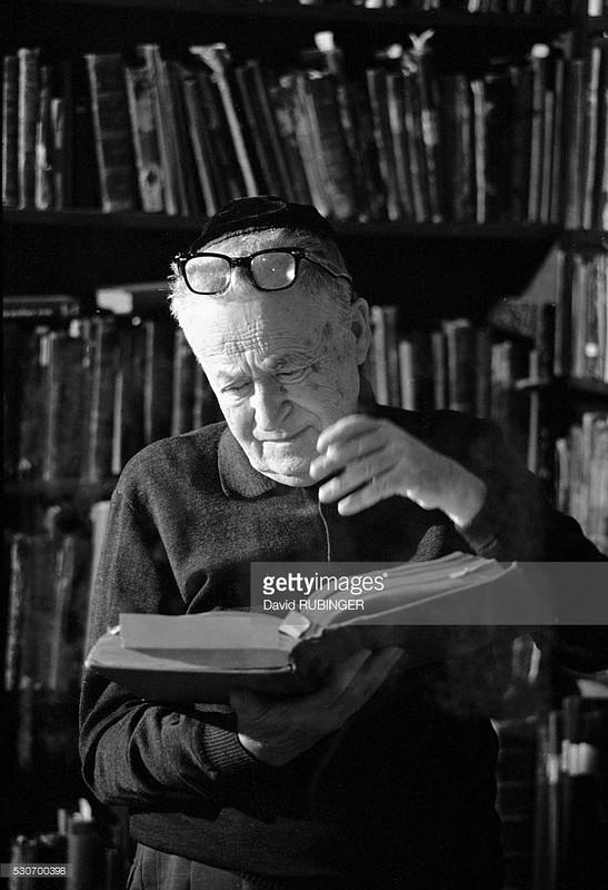 Yosef Shmuel Agnon (Photo by David Rubinger/CORBIS/Corbis via Getty Images)