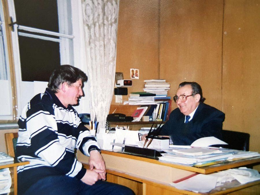 Професор Панасюк Є. М., 2000 р.