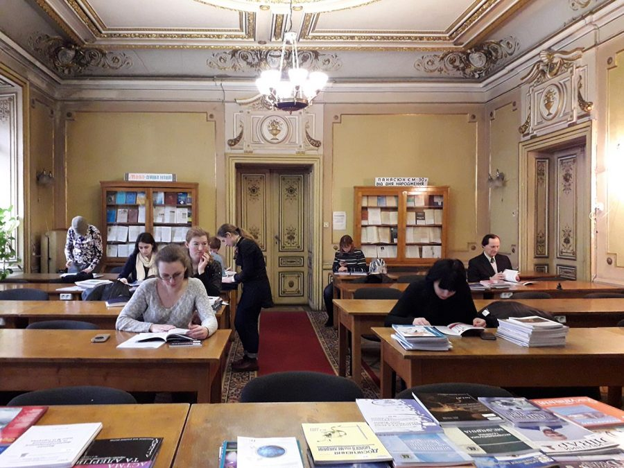 На Дні інформації в бібліотеці ЛНМУ імені Данила Галицького
