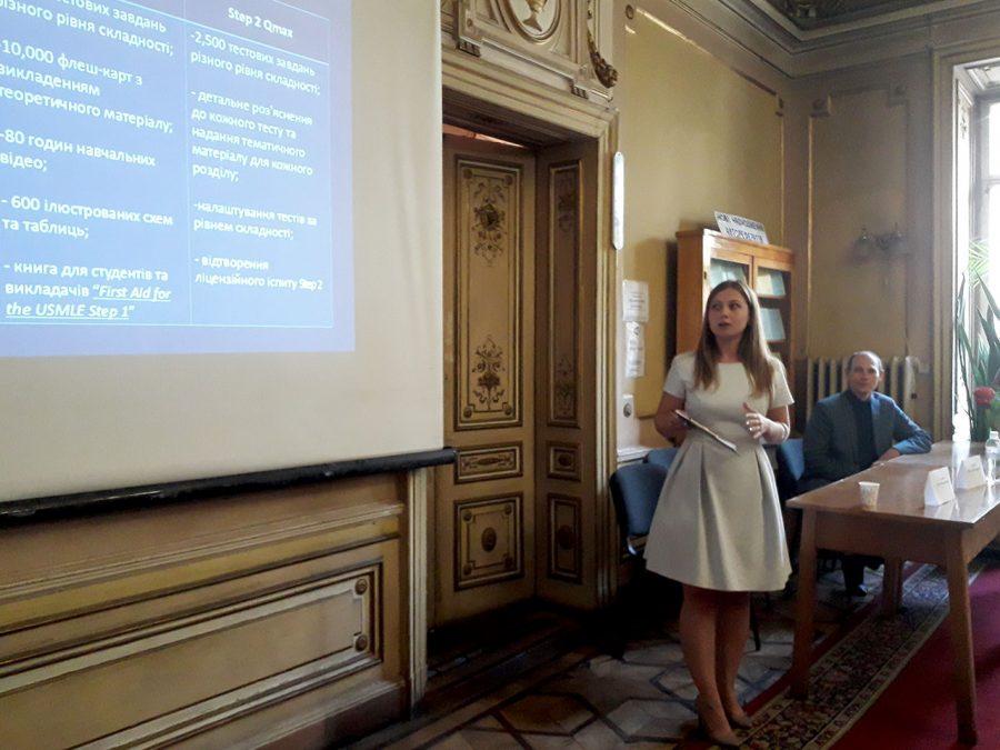 Юлія Лозович розповідає про USMLE та IFOM
