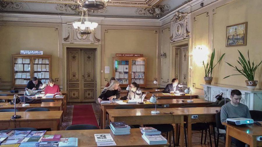 Під час Дня інформації в Науковій бібліотеці ЛНМУ ім. Данила Галицького