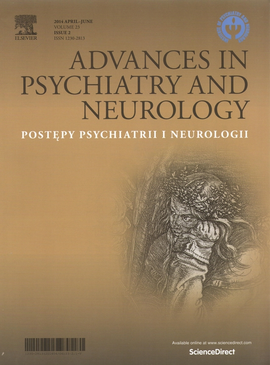 ADVANCES IN PSYCHIATRY AND neurology