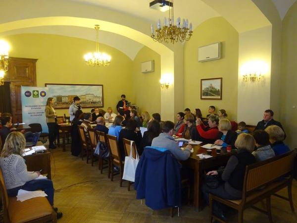 Семінар «Перспективи розвитку відкритих просторів на базі бібліотек та молодіжних центрів» у Львові. Фото http://dsmsu.gov.ua/index/ua/material/29785