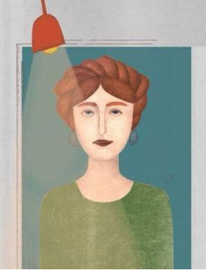 Фрагмент плакату ілюстраторки Єви Гриник