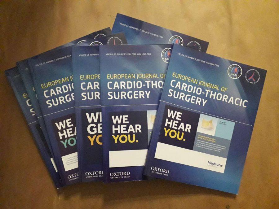 Науковий щомісячний журнал «European Journal of Cardio-Thoracic Surgery»