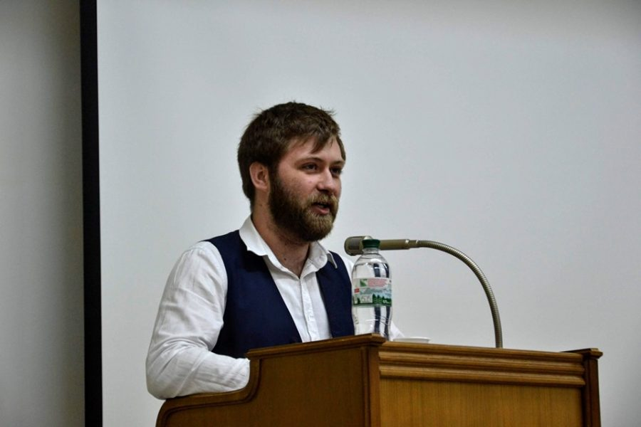 Помічник заступника міністра охорони здоров'я України Віктор Артеменко